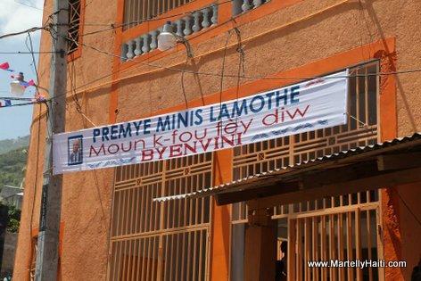 PM Laurent Lamothe - Inauguration Marche Carrefour-Feuilles
