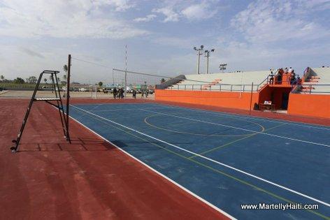 President Martelly - Inauguration Centre Sportif et Socio-culturel des Cayes