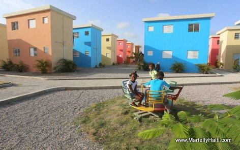 100 unités de logements aux Cayes Haiti - Administration Martelly-Lamothe