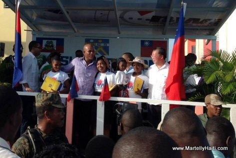 100 unites de logements aux Cayes Haiti - Administration Martelly-Lamothe