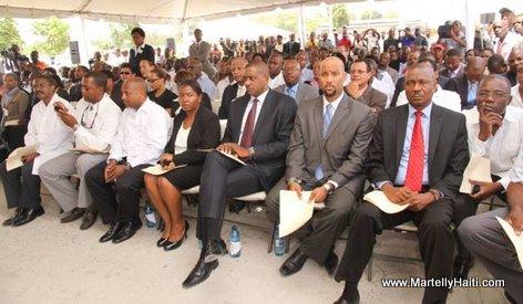 Inauguration Hopital OFATMA de Cayes Haiti