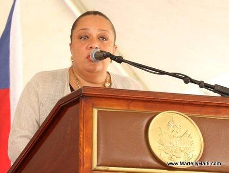Sophia Martelly - Inauguration Hopital OFATMA de Cayes Haiti