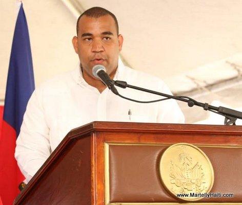 Max Rudolph Saint Albin - Inauguration Hopital OFATMA de Cayes Haiti