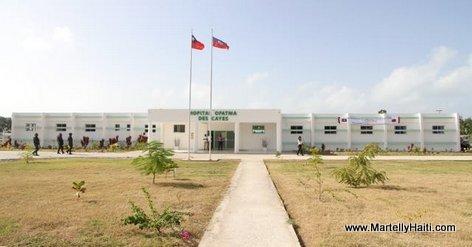PHOTO: Nouveau Hopital OFATMA des Cayes Haiti - Inogure Juin 2014