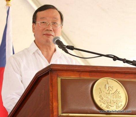 Tsai Chiu Hwang - Inauguration Hopital OFATMA de Cayes Haiti