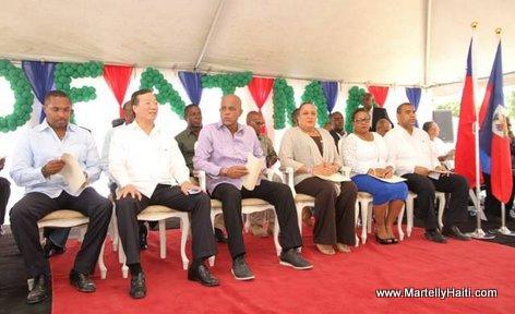 Inauguration Hopital OFATMA des Cayes Haiti