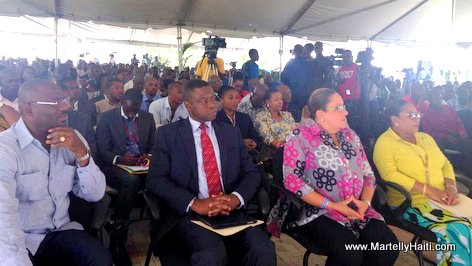 Haiti Sophia Martelly - rencontre de sensibilisation sur le chikunguya a Delmas