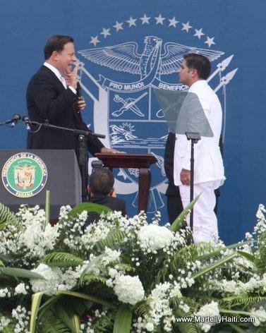 Panama - Investiture President Juan Carlos Varela