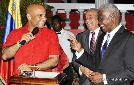 Haiti Premier Ministre Laurent Lamothe - Indépendance du Venezuela