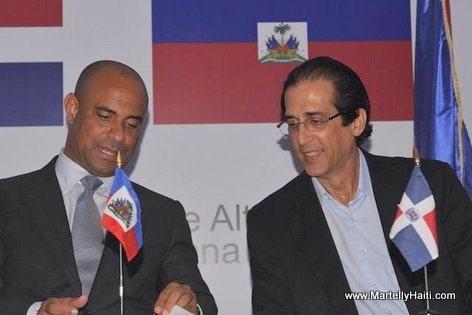 Haiti-Dominican Dialogues Continues, Laurent Lamothe, Gustavo Montavo