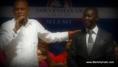PHOTO: President Martelly ak Piman Bouk - Gouvenman Lakay ou Miami