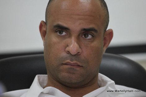PHOTO: Haiti - Premier Minis Laurent Lamothe nan yon Reunion avec USAID