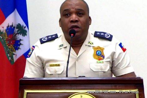 Godson Orelus - Chef de la Police National d 'Haiti 4