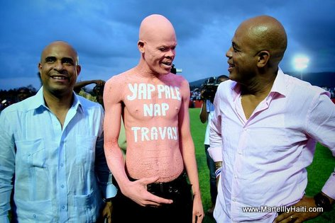 PHOTO: Haiti - Martelly-Lamothe - Yap Pale Nap Travay