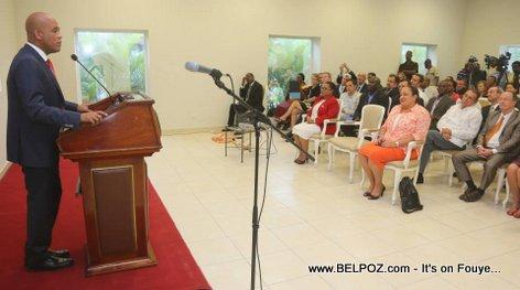 PHOTO: Haiti presentation des realisations du Ministere de la Sante Publique